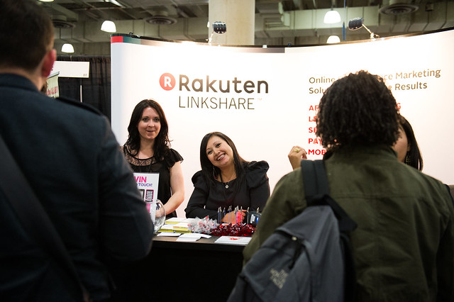 The Linkshare Booth at BlogWorld New York