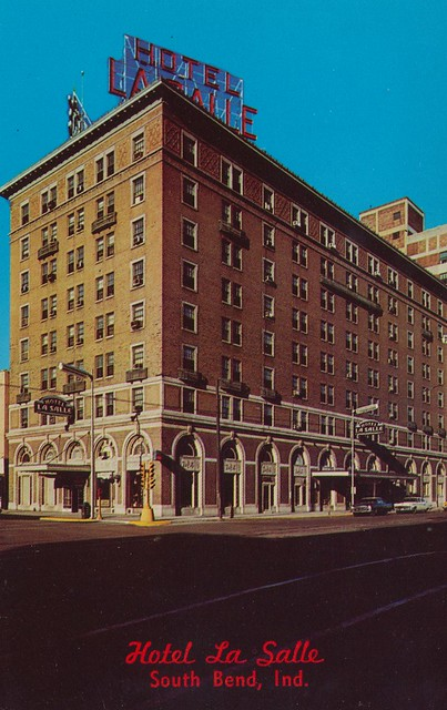 hotel la salle south bend indiana 237 n michigan st. Black Bedroom Furniture Sets. Home Design Ideas