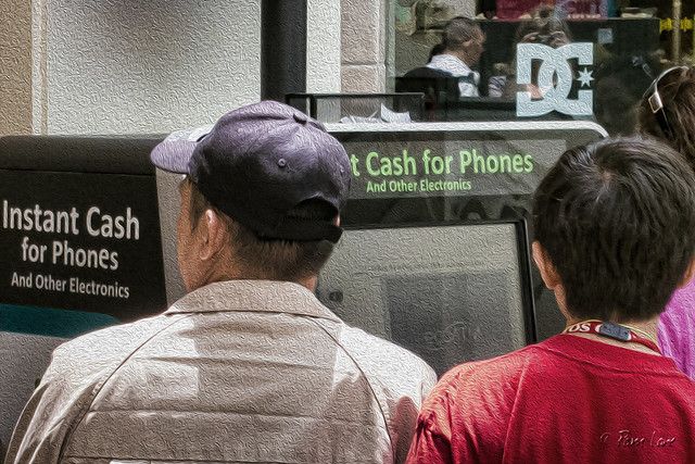 Instant cash for phones