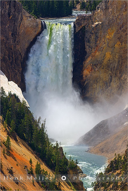 Lower Falls - Yellowstone N.P - Wyoming - USA