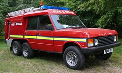 Range Rover six wheeler fire-truck red vr