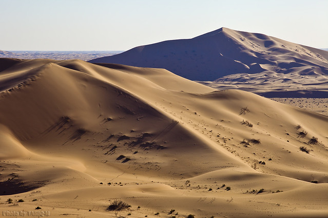 Mountains of sand