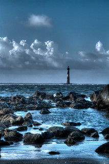 Morris Island Lighthouse - Charleston