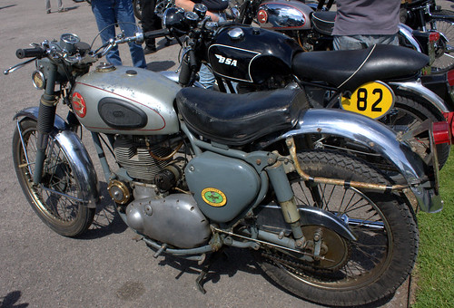 Brooklands - 75th Anniversary of the BSA  Gold Star