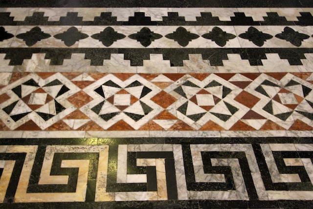 Siena Duomo tiled floor pattern1