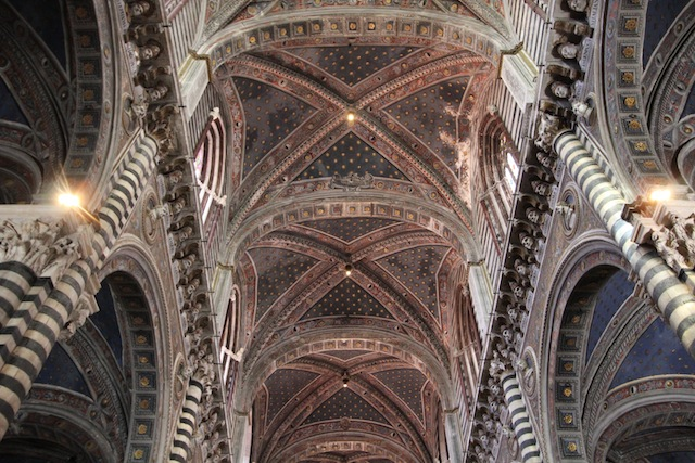 Siena Duomo ceiling