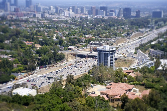 The 405, Wilshire Blvd & Century City