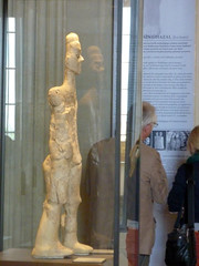 The Louvre-9000 year old guy from 'Ain Ghazal