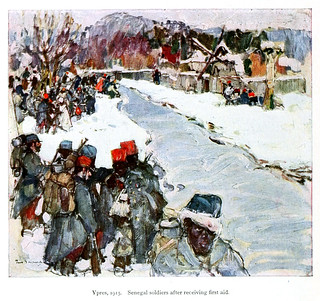 A Russian painter's impressions of the war; (1916)