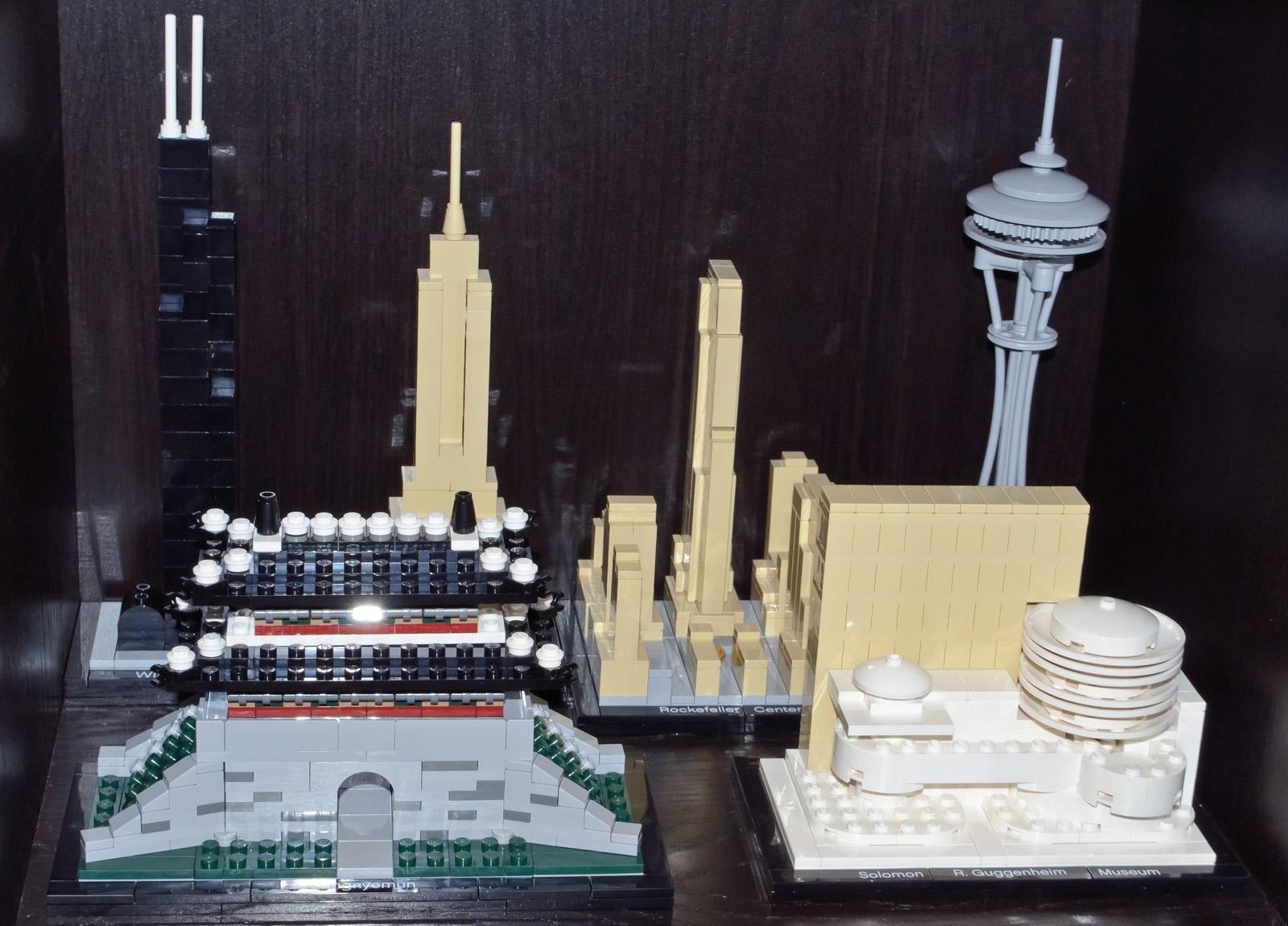 Lego Architecture Sets 21000 21002 21003 21004 21007