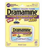 $1.50/1 Dramamine For Kids Motion Sickness Relief Product Coupon