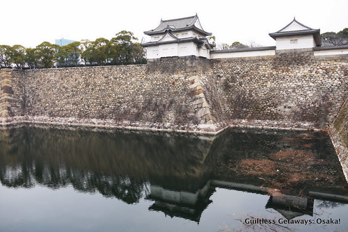 osaka-castle-moat-with-reflection