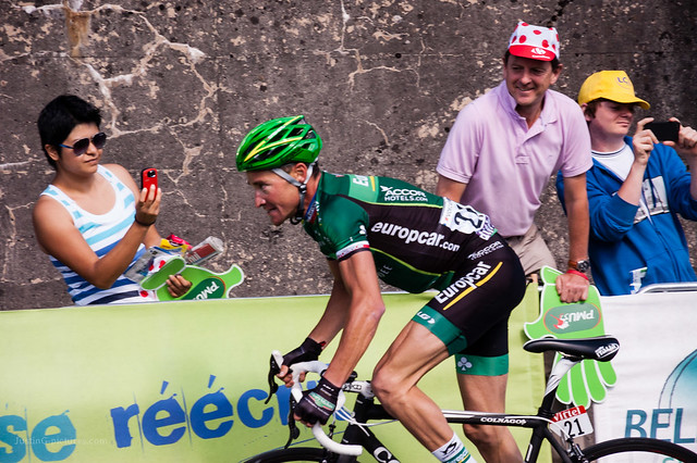 Thomas Voeckler, Bellegarde-sur-Valserine, France, 2012