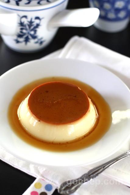 cream caramel -- bánh flan