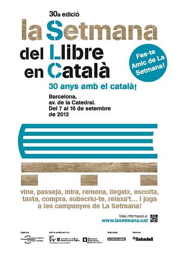 Setmana del llibre en català @ Barcelona 7 - 16 setembre by bibliotecalamuntala