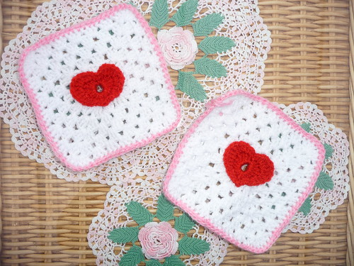 Corien (Netherlands) Thank you for the Heart Squares.