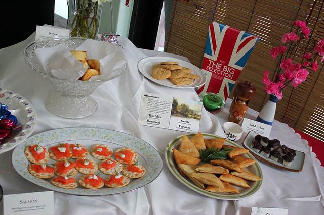 The Afternoon Tea items