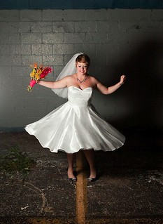 twirly bride
