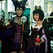 Steampunk Maleficent and Evil Queen from Snow White