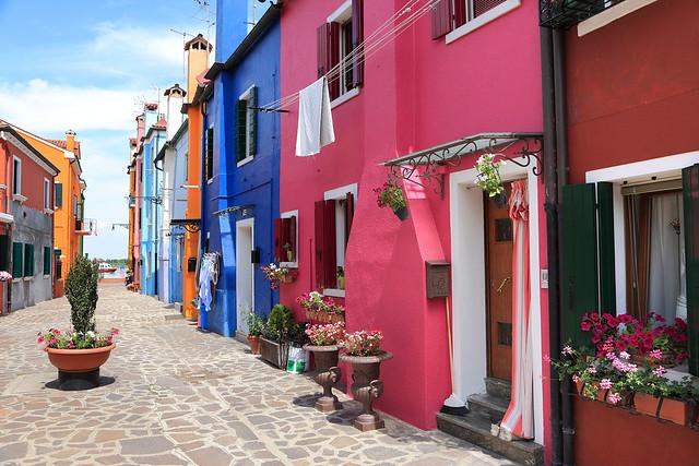 Street on Burano