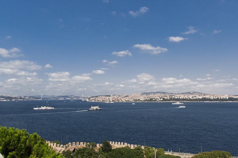View from Topkapı Sarayı (Istanbul, Turkey)