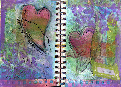 Spiral Journal Spread 3