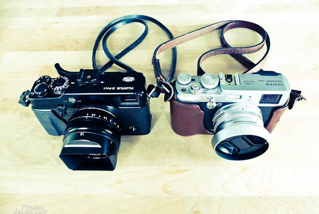 Siblings - Fuji X-Pro 1 and Fuji X100