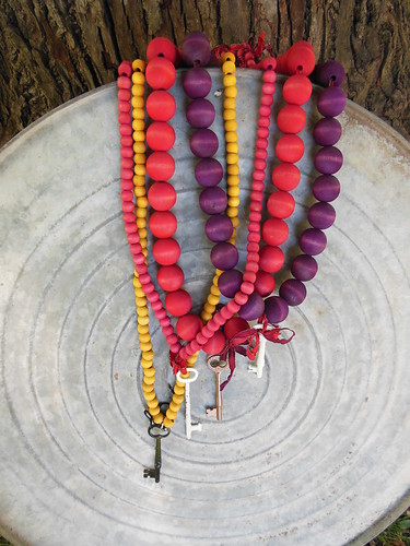 Martha Stewart Dyed Beads by becky b.'s sew & tell
