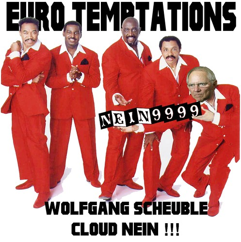 CLOUD NEIN! by Colonel Flick