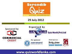 Serendib Quiz 1 on 29 July 2012 - Slide