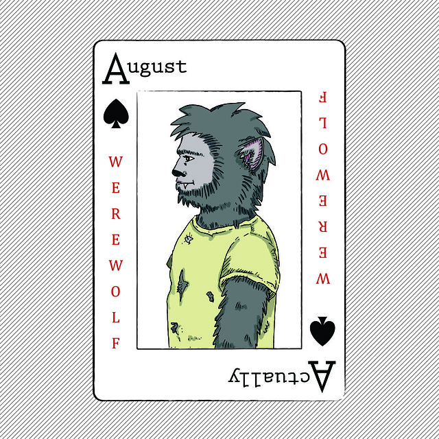 August Actually Single- Werewolf