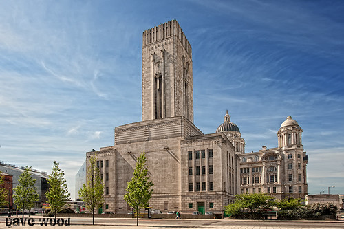 Art Deco Mersey Tunnel Ventilation Building, Liverpool