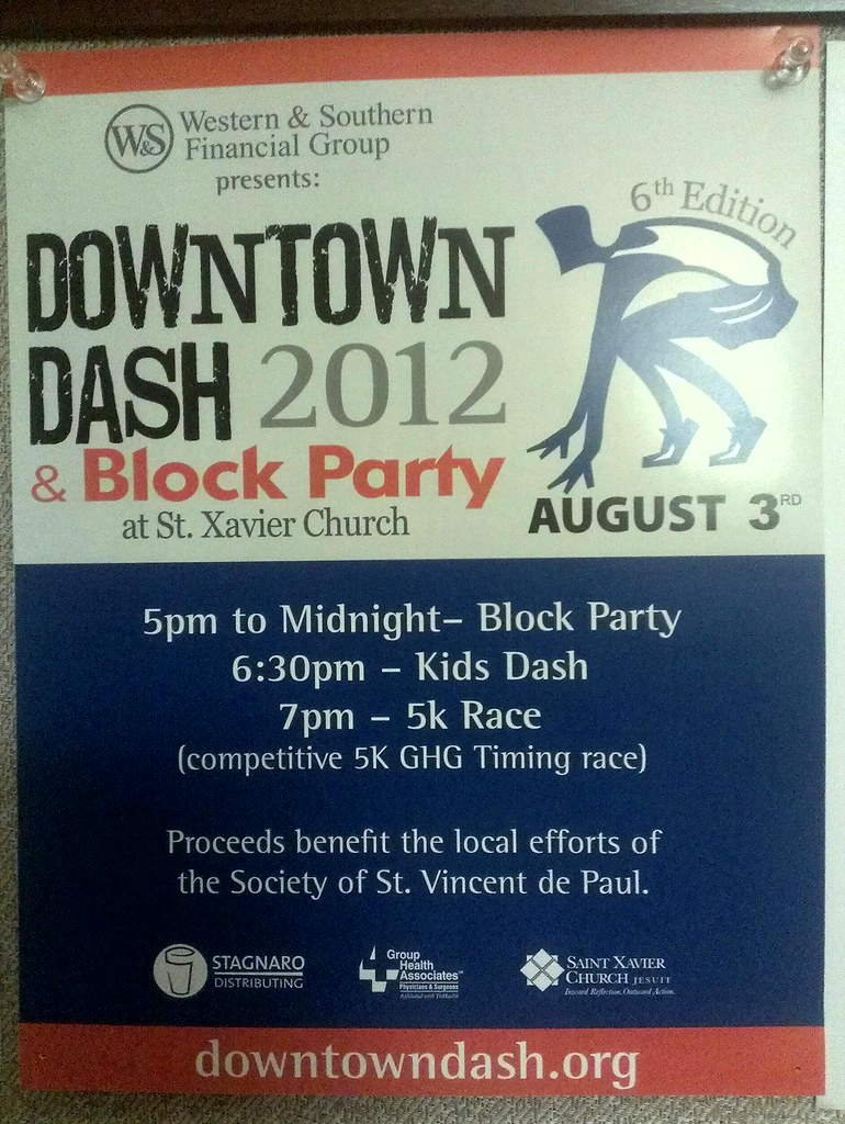 Downtown Dash & Block Party
