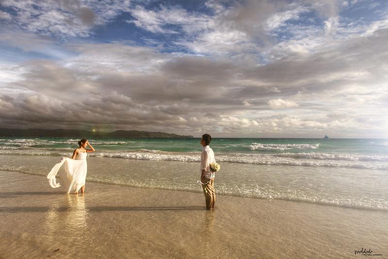 [wedding] love in Boracay