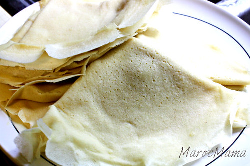 Folded Crepes