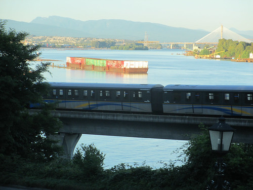 I stayed at motel in Surrey, but rode on into Vancouver to explore Central Valley Greenway