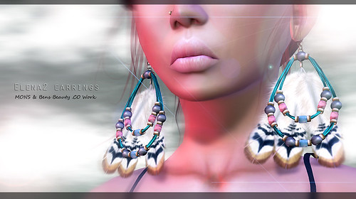 MONS & Bens Beauty - Elena2 Earrings by Ekilem Melodie - MONS