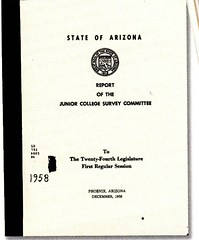 1958 AZ Junior College Bill