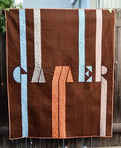 gamer quilt