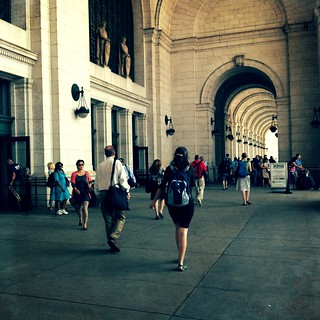 Beautiful Union Station. So long, DC! #aeadc