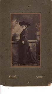 Ethel Margaret Cross Cohen in Mourning 1902