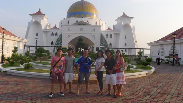 Malacca: Malacca Straits Mosque / Masjid Selat Melaka