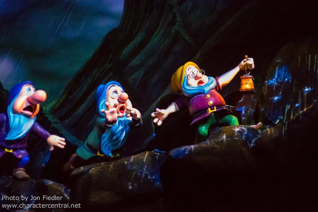 Disneyland July 2012 - Riding Snow White's Scary Adventures