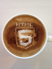 Today's latte, HTML5.