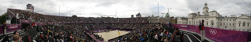 London 2012 - beachvolley arena