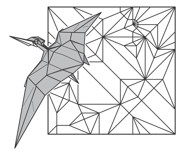 diagram for origami tanteidan convention 18th