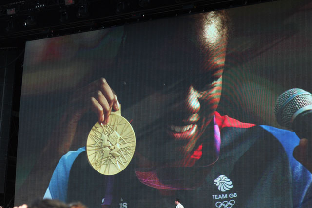Nicola Adams Olympic Boxing Gold medallist
