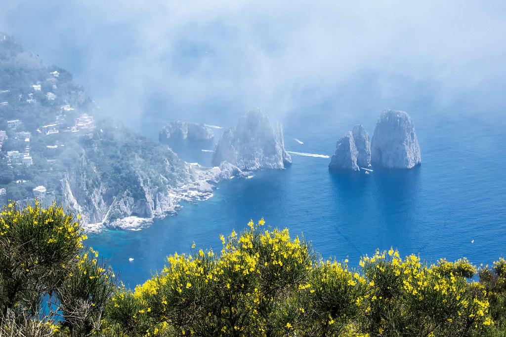 Faraglioni Rocks Off The Isle of Capri