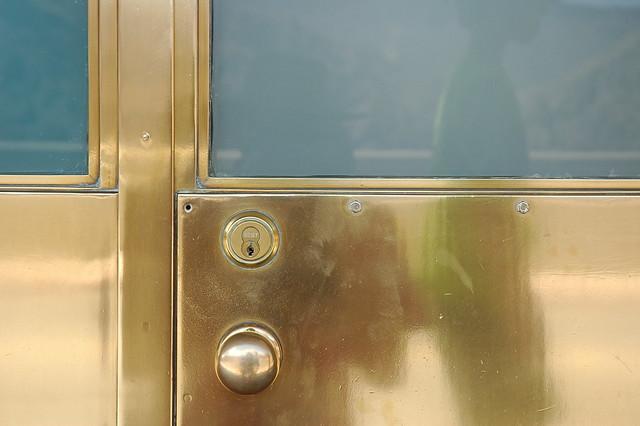 Brass Door Detail