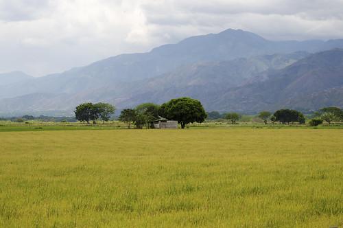 rio colombia provincia paesaggi magdalena embalse huila betania diga neiva